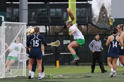Oregon lacrosse thumps Cal in first round of Pac-12 Tournament