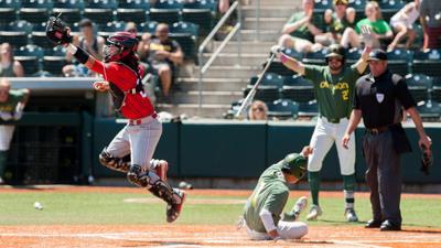 Oregon baseball's Kyle Kasser scores four runs in 4-3 walk-off win over Utah