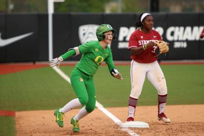 Spread out scoring leads Oregon softball to 4-1 win over Stanford