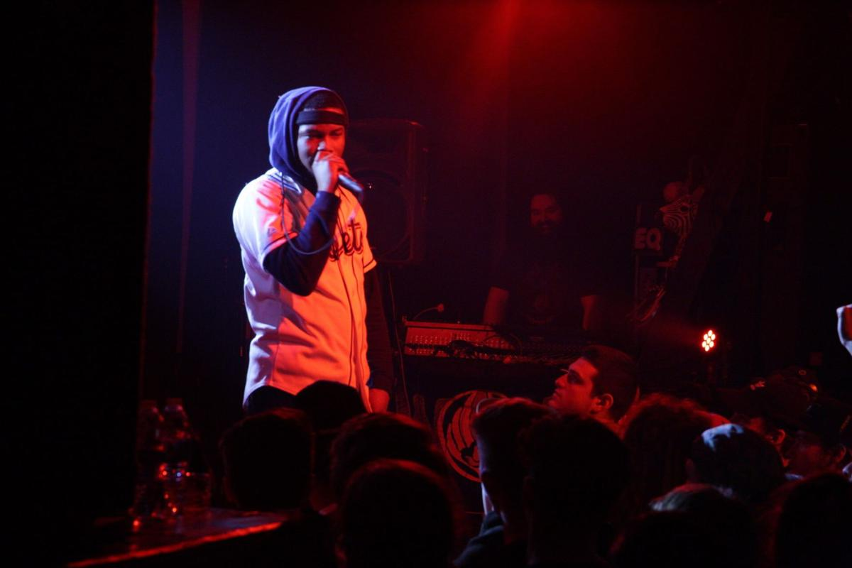 """Ab-Soul and Nick Grant gave Eugene a taste of """"real hip-hop"""" Saturday night"""