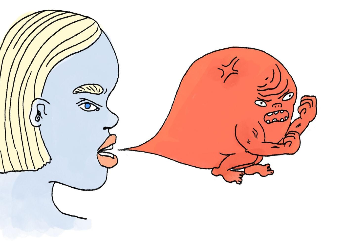 Hate Speech Illustration