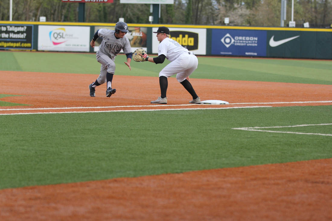 Photos: The Oregon Ducks beat UC Irvine Anteaters 10-1 in first game of series