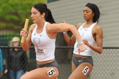 Oregon's sprinters and jumpers achieve personal records at Don Kirby Elite Invitational