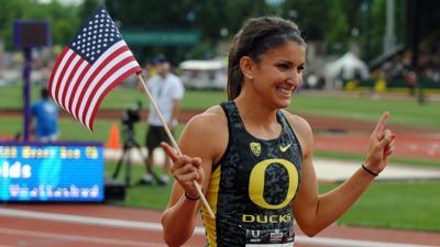 Oregon's Jenna Prandini punches her golden ticket to Beijing