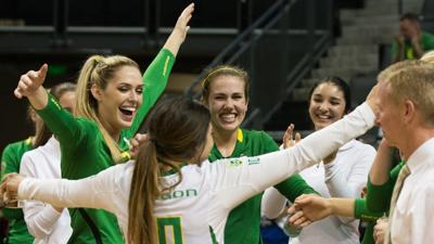 Oregon Volleyball qualifies for NCAA Tournament, will play Miami in first round