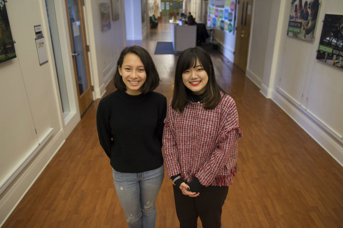 Conversations across cultures: Tutoring program sparks friendships between domestic and international students at UO