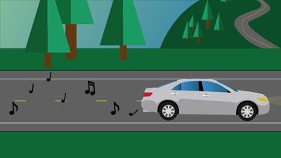 Traveling Music Illustration