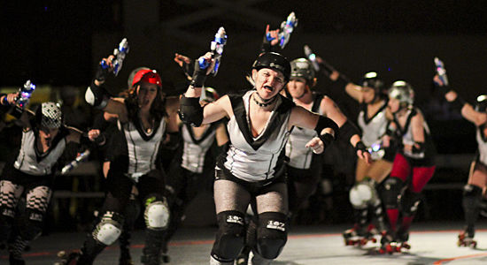 Roller Derby Season Begins with Hard Hits