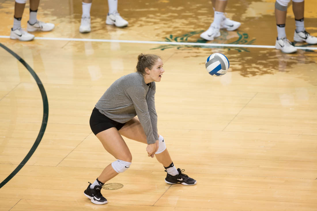 Alex Hojnar faces the pressure of replacing Amanda Benson, but she sees it as an opportunity