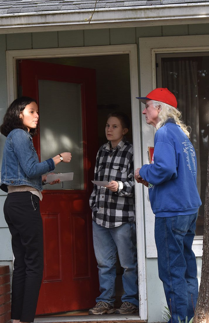 """""""Not in our town"""": Eugene community pushes back against recent hate crime"""