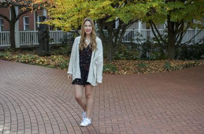 Cold weather does not mean the death of dresses