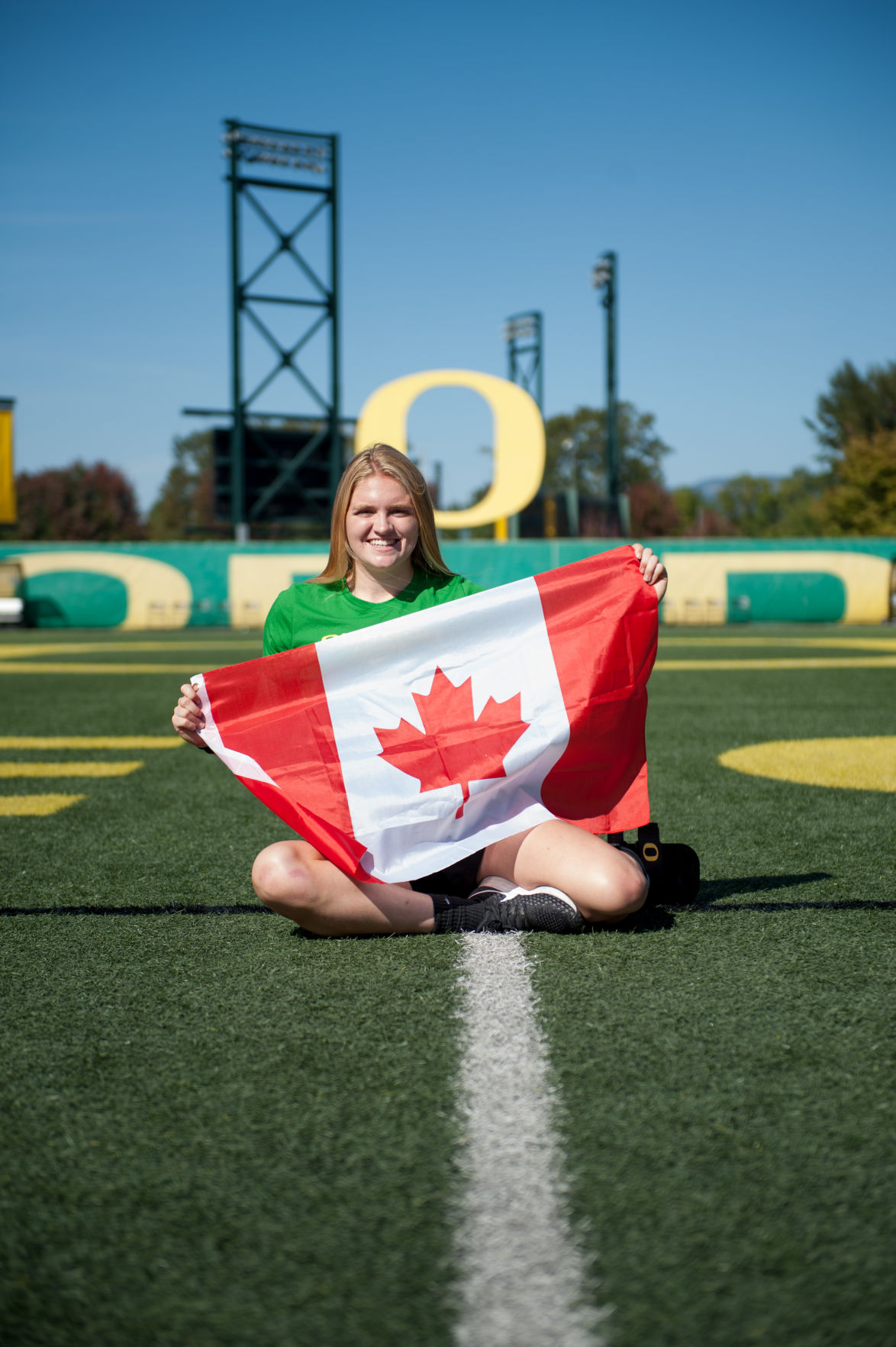 A northern star: How playing for Canada connected Hannah Taylor to Oregon soccer