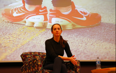 Virginia Tech shooting survivor recounts her story at lecture