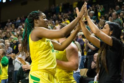 Oregon looks to fill void left by Jillian Alleyne's injury in Pac-12 Tournament