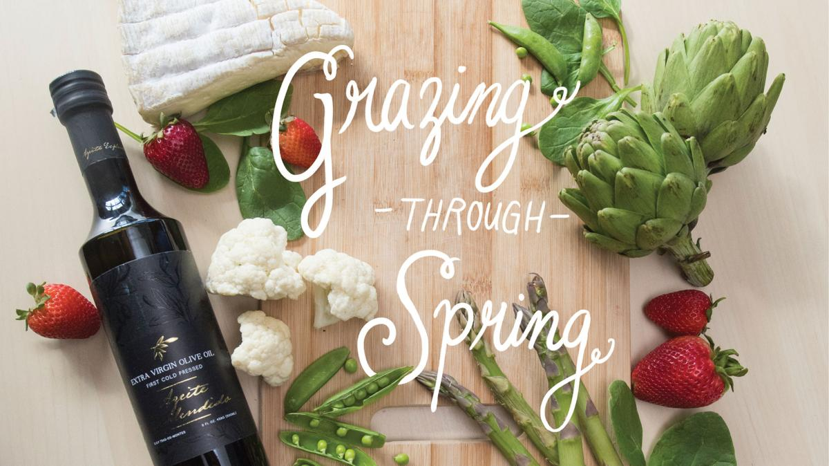 Recipes for spring season fruits and veggies