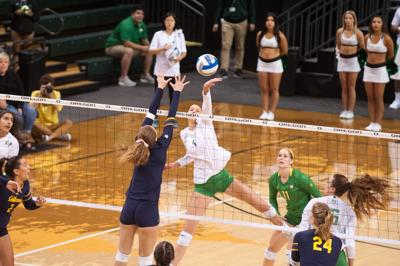 No. 16 Oregon Volleyball sweeps Cal 3-0 to end two-match skid