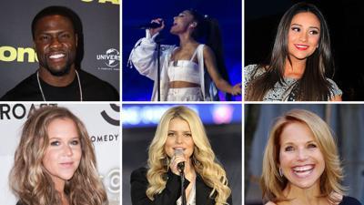 Celebrity NY resolutions