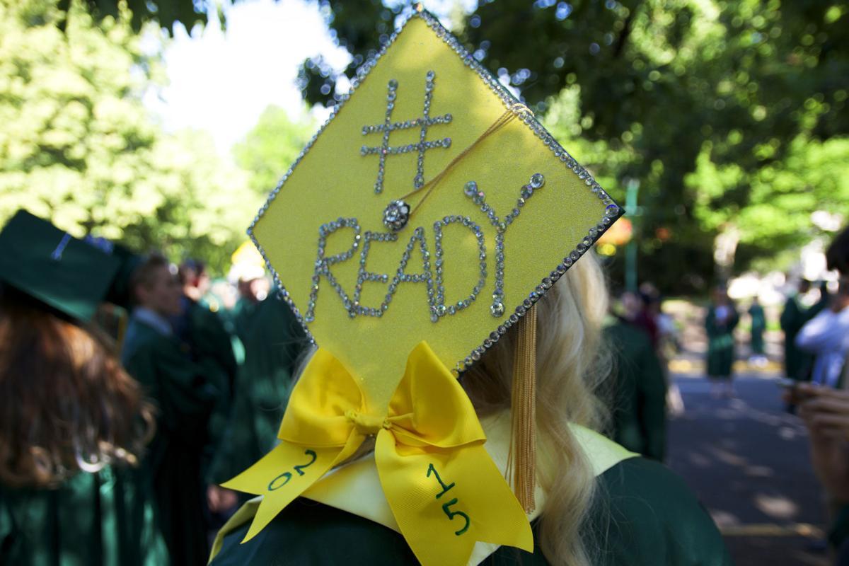 Photos: Thirteen graduation caps on 13th avenue