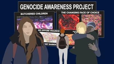 Manggala: The Genocide Awareness Project aims to terrorize UO students