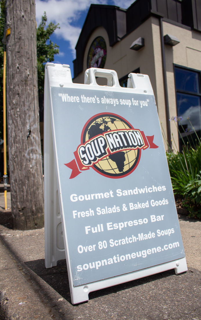 Screamin' Jay's food cart to replace Soup Nation Soup Carte near PLC Hall