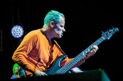 Flea steals the show at the Red Hot Chili Peppers' Portland concert