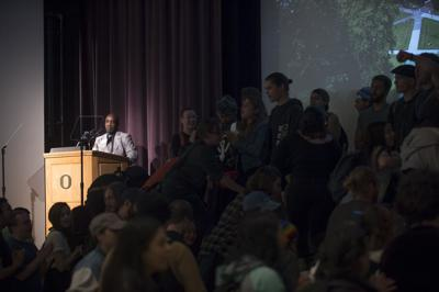 UO charges student with conduct violation for protest she says she didn't attend