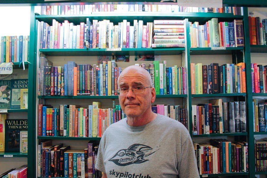 Tsunami Books owner Scott Landfield runs donation-free campaign for Eugene mayor