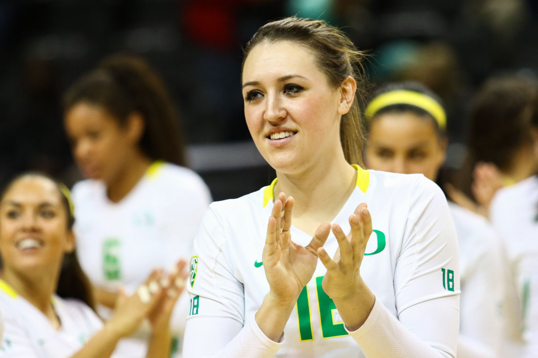 Photos: Oregon defeats Arizona State in 3 sets