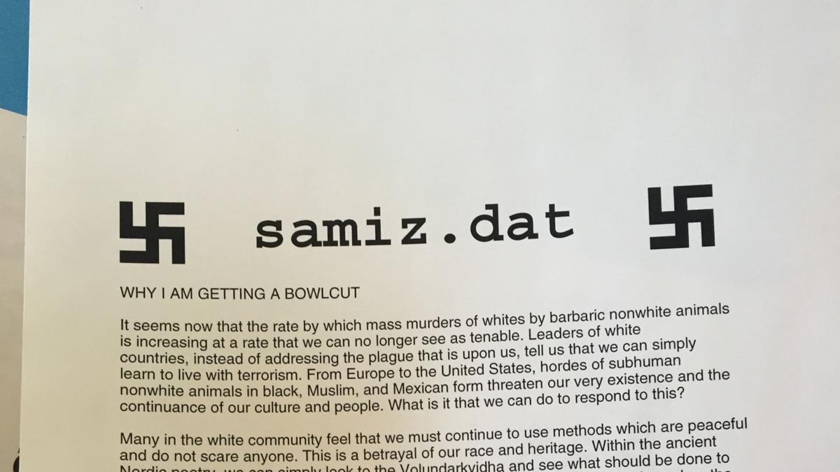 Racist UO printer hack was part of national rant