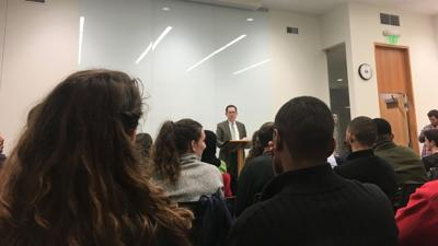 President Michael Schill speaks about free speech and inclusivity