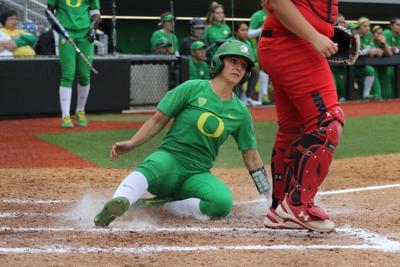 Senior power pushes Oregon past Utah 8-1 to complete series sweep