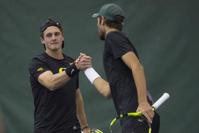 Laurent and Clissold on track to challenge program record for doubles wins