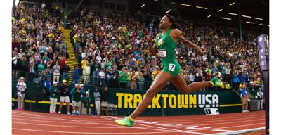 IAAF World Championships: Phyllis Francis wins gold in 400, Deajah Stevens in 200 semifinal