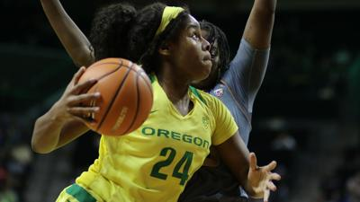 Ruthy Hebard: Outstanding as a freshman and still going strong in year two