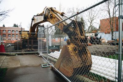 Constant campus construction bothers students of today to benefit students of tomorrow