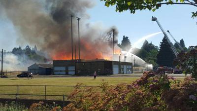 Eugene loses historic landmark in Civic Stadium inferno