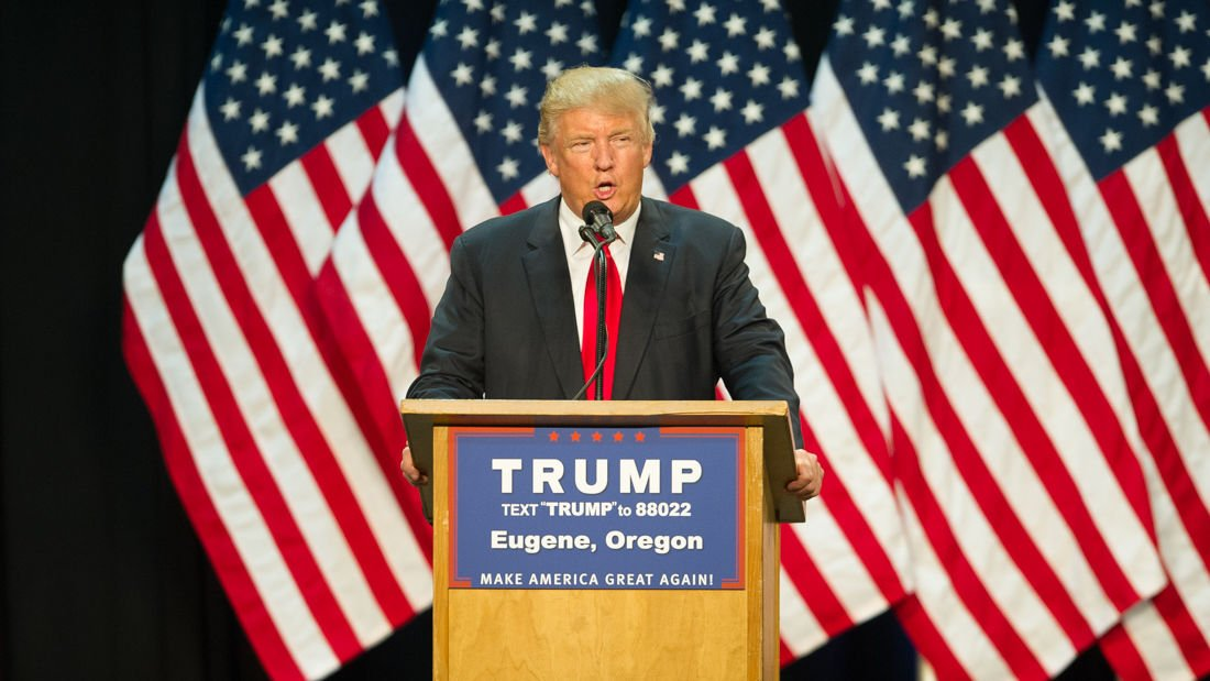 Photos: Donald Trump hosts rally at Lane County Events Center