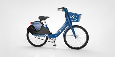 Here's a look at the new PeaceHealth bike-share bicycles set to launch on campus next term