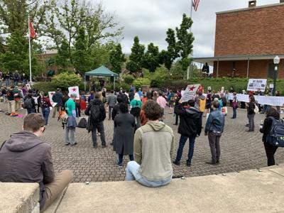 GTFF, LERC rally after cramming Board of Trustees meeting