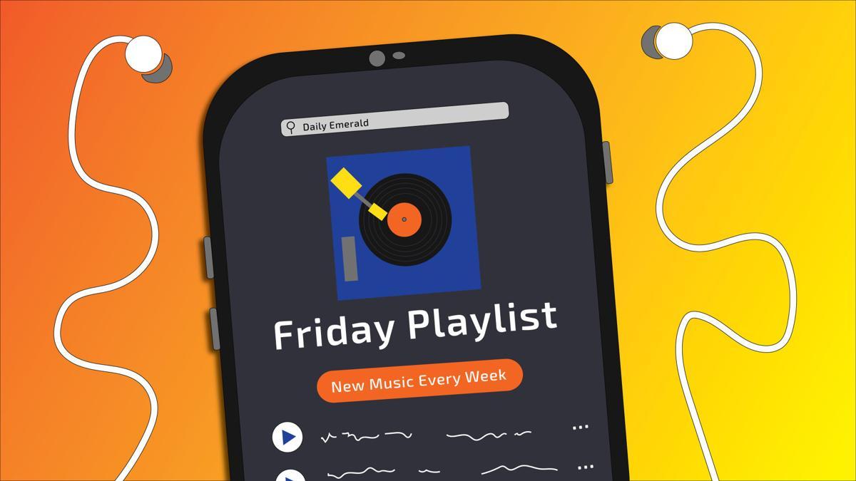 friday playlist illustration