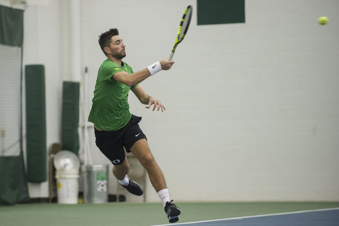 Photos: The Oregon Ducks sweep the Montana State Bobcats 5-0 in their first spring match