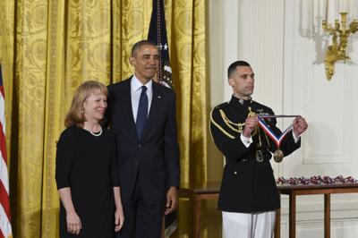 UO Professor Geri Richmond honored at White House