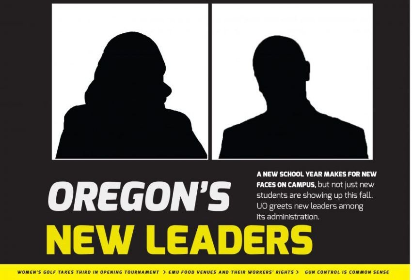 New administrators look to improve UO this fall