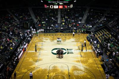 Oregon volleyball sweeps Oregon State in Pac-12 opener