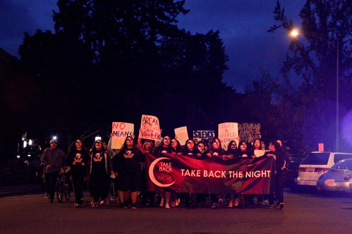 Photos: 38th annual Take Back the Night marches through Eugene