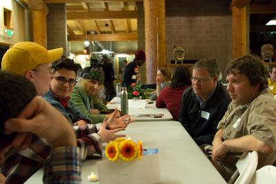 Manzil Midrash dinner and discussion brings Muslim and Jewish students together