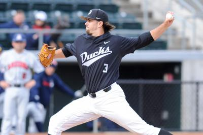 Peterson strikes out eight as Ducks pick up first Pac-12 win of season