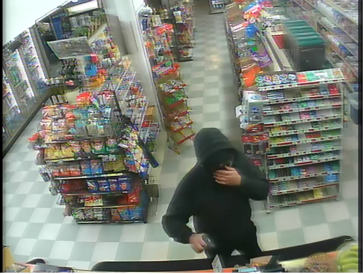 Pictures released of suspects from three armed robberies last weekend