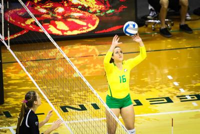 Oregon volleyball finishes Oregon Classic with swift sweep over Arkansas-Pine Bluff
