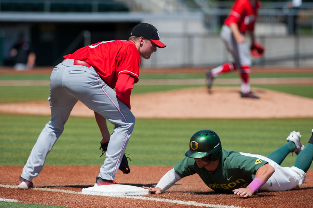 Photos: Baseball sweeps University of Utah with a 4-3 win